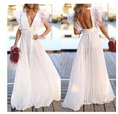 Red Slip Dress, The Dress, Dress Skirt, Long Summer Dresses, White Dress Summer, Evening Dresses, White Outfits, Pretty Outfits, Pretty Dresses