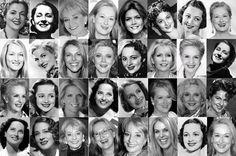 "Kibbe's Original ""Soft Classic"" Archetypes: Meryl Streep, Oliva de Havilland, Joan Fontaine, Blythe Danner, Meredith Baxter, Barbara Walters, Caroline Oxenberg, Merle Oberon, Norma Shearer, Carolina Herrera"