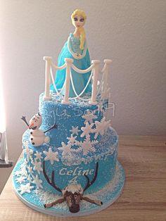 Frozen Cake, Elza Cake Frozen Cake, Desserts, Food, Pies, Tailgate Desserts, Deserts, Essen, Postres, Meals