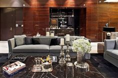 luxe living room by Steve Leung