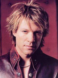 Jon Bon Jovi - The Rock Star Icon Of Leather - Men Style Fashion