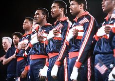 U.S. Boxing KOs The Field In L.A. (1984)  The U.S. fielded one of the strongest boxing teams in history at the 1984 Olympics in Los Angeles, accruing a record 11 medals, nine of which were gold, with boxing powerhouses Cuba and the Soviet Union boycotting the Games. Team USA seemed poised to capture 10 golds, but Evander Holyfield's controversial semifinal disqualification ended that hope.