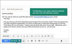 Wordzen - Nós escrevemos seus e-mails para você