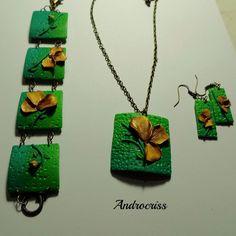 Dor de verde-set bijuterii