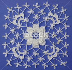 Irish Crochet Rose Motif Free Pattern - Squidoo : Welcome to Squidoo