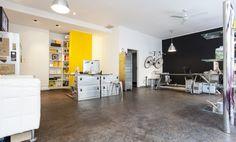 Arbeitsplätze in stylischem Office im Glockenbachviertel #Büro, #Bürogemeinschaft, #Office, #Coworking, #München, #Munich