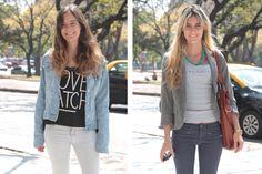 Las argentinas aman el pelo largo con ondas o lacio. #StreetHair