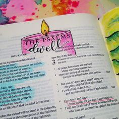 Psalm 3:5. / flouris