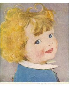 Photographic Print of Baby Blue Eyes by Muriel Dawson