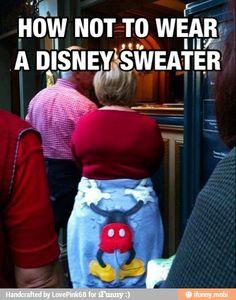 Moooommm!  Fix your sweater!