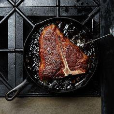 How to Cook a Porterhouse Steak - Bon Appétit Healthy Grilling Recipes, Grilled Steak Recipes, Beef Recipes, Cooking Recipes, Cooking Tips, Cooking Lamb, Grilled Food, Cooking Steak, Savoury Recipes