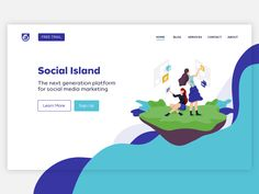 Mock up for website
