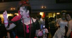 Photos of the WXLO Awesome '80s Prom at Mechanics Hall.