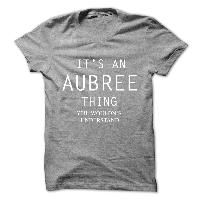 Its An AUBREE Thing.You Wouldns Understand
