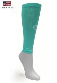 Solid Mint sleeve  #crazycompression #crazyclan  www.crazycompression.com