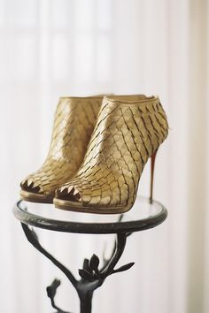 Gold booties always win. Always. Booties are where it's at right now, but gold booties? Forget it. Favorite shoes ever.
