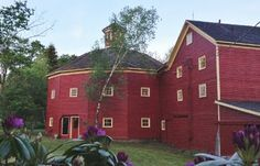 This beautiful barn in Schoharie County, Jefferson, NY. This barn was built by the town doctor to assist during the growing need for creameries after the civil war. He was a clerk in that war where he received his medical background and attended the Inauguration of President Lincoln. This building is on the National Historic Register.