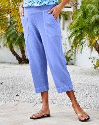 Fashion Essentials, Style Essentials, Pedal Pushers, Ankle Pants, Comfortable Outfits, Capri, Clothes, Key Largo, Ankle Length Pants