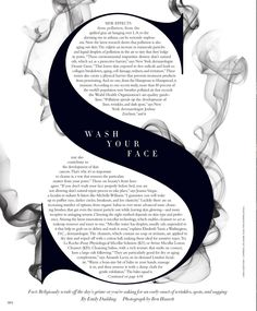 Typography could be warped to fit around other objects on advertisement to fill up negative space, and to stop crowding on the page editorial layout Harper's BAZAAR - Your Source for Fashion Trends, Beauty Tips, Pop Culture News, and Celebrity Style Typography Inspiration, Layout Inspiration, Graphic Design Inspiration, Graphic Design Blogs, Design Editorial, Editorial Layout, Design Graphique, Art Graphique, Poster Design