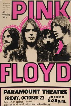 Music poster pink floyd 45 IdeasYou can find Music posters and more on our website. Poster Retro, Vintage Concert Posters, Arte Pink Floyd, Pink Floyd Tour, Poster Sport, Pink Floyd Poster, Pink Floyd Concert, Rock Vintage, Vogue Vintage