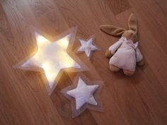 Night light star by ApOLou on Etsy