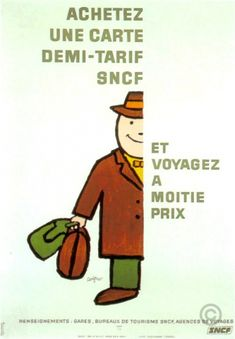 Renault 4 One Sheet original poster by Savignac Raymond