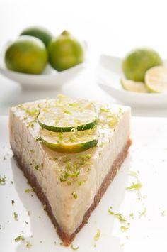 Raw Key Lime Pie - how fun!
