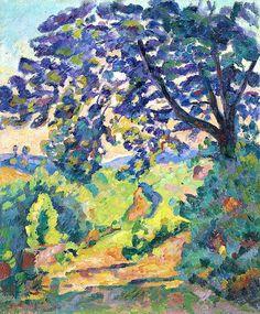 Armand Guillaumin (1841-1927) Paysage à Crozant