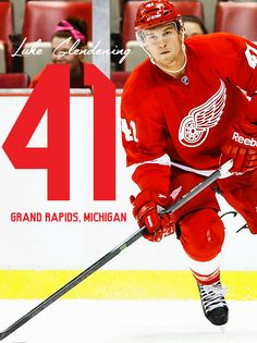 My main man. Ice Hockey Teams, Sports Teams, Hockey Players, Luke Glendening, Detroit Hockey, Red Wings Hockey, Nhl News, Go Red, National Hockey League
