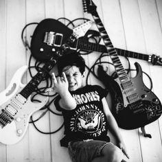 Little rocker. Miriam Girones Photography.
