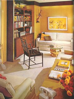 Vintage Home Decorating Decorating Styles & 60s Living Room | Remarkably Retro 1950s living room design | My ...