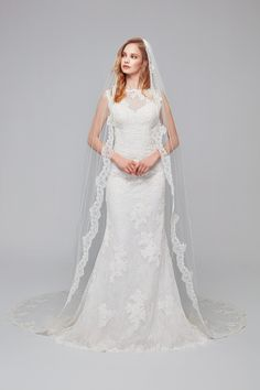 Illusion neckline sweetheart all over lace fit & flare Bridal Bolero, Bridal Gowns, Wedding Gowns, Bridal Undergarments, Affordable Wedding Dresses, Illusion Neckline, White Bridal, Ball Dresses, Dresses For Sale