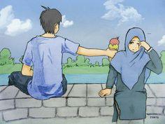 Wedding couple cartoon muslim Ideas for 2020 Cute Muslim Couples, Cute Couples, Hijabs, Muslim Photos, Backgrounds Hd, Wedding Couple Cartoon, Shabby Chic Design, Muslim Couple Photography, Islam Marriage
