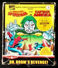 Juego Spectrum 48k / 128k Cinta - DR. Doom's Revenge (1989)