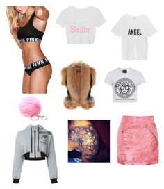 """""""Untitled #439"""" by kiarra-jones ❤ liked on Polyvore featuring Preen, Balmain and Moschino"""
