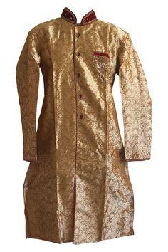 Light Brown Sherwani for Men