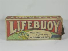 Old Shop Stuff | Old-shop-packaging-Lifebuoy-soap-King-George-V-appointment-Port-Sunlight for sale (20157)