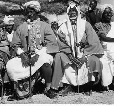 Tribal elders in Somalia