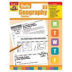 Good short daily lessons on mapping skills.