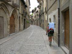 camino de santiago Calles de Estella by FreeCat, via Flickr