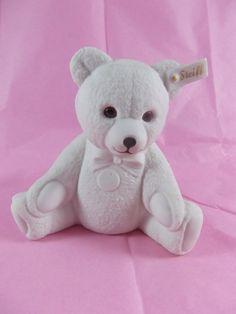 Hutschenreuther Steiff Teddy Bear Figurine Porcelain by acornabbey