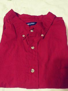 d3b6a41e PURITAN MEN'S BUTTON DOWN SHORT SLEEVE SHIRT SIZE 3XL BRICK RED #fashion  #clothing #shoes #accessories #mensclothing #shirts (ebay link)