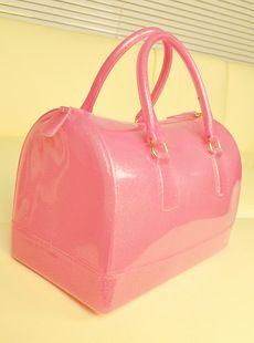 Bags, Luggage & Bags, Fulla furla candy bag candy colored jelly bag Boston bag pillow bag handbag 2013 women