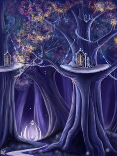 Lothlorien by ~Ivelena on deviantART