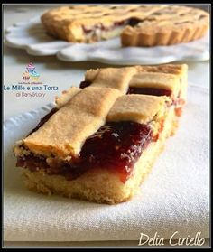 Sweets Cake, Cookie Desserts, Dessert Recipes, Pasta Frolla Recipe, Granny's Recipe, Confort Food, Jam Tarts, Torte Cake, Best Banana Bread
