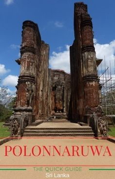 Guide to Polonnaruwa, Sri Lanka. Things to do in Polonnaruwa, best places to stay, where to eat, how to get here and more. Amazing Destinations, Holiday Destinations, Travel With Kids, Family Travel, The Places Youll Go, Places To See, Honeymoon Planning, Plan Your Trip, Travel Inspiration