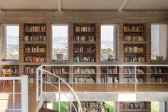 José Miguel Mantilla Salgado, JAG Studio · La Casa del Profesor de Historia Bookshelves, Bookcase, Reading Room, Stores, Brick, Studio, Architecture, Interior, Design