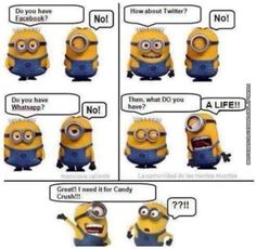 Funny Minion Quotes | Funny Minion – Cartoon – Strip