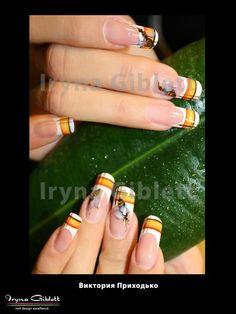 Nail art: Nails from our educator Viktoria Prihodko