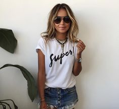 NEW IN: Fall Graphic Tees - SHOP SINCERELY JULES 'super' tee Monday, October 5, 2015